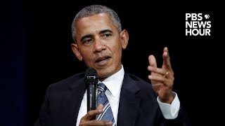 WATCH LIVE: Barack Obama delivers the annual Nelson Mandela lecture in Johannesburg