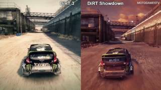 DiRT 3 vs DiRT Showdown - Battersea Comparison