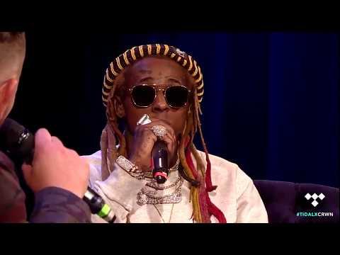 "Lil Wayne Doesn't Remember ""Green Ranger"" Freestyle w. J. Cole"