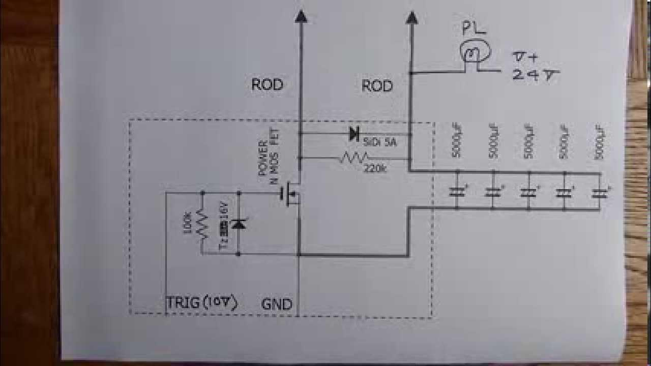 Mini spot welder circuit diagram  YouTube