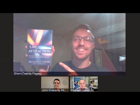 Episode #236 Special Guest, Shem, Reviewed Michael's Book Law of Attraction Video for each one