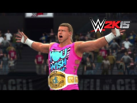 WWE 2K15 Replay: Dolph Ziggler vs. Cesaro — WWE Hell in a Cell 2014 Simulation