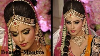 Wedding Makeup - Amrapali Bridal Look - Complete Hair And Makeup