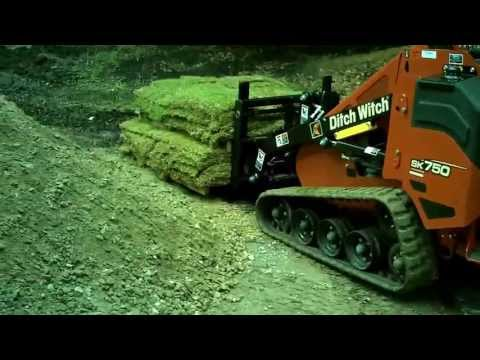 Ditch Witch SK750 Mini Skid Steer