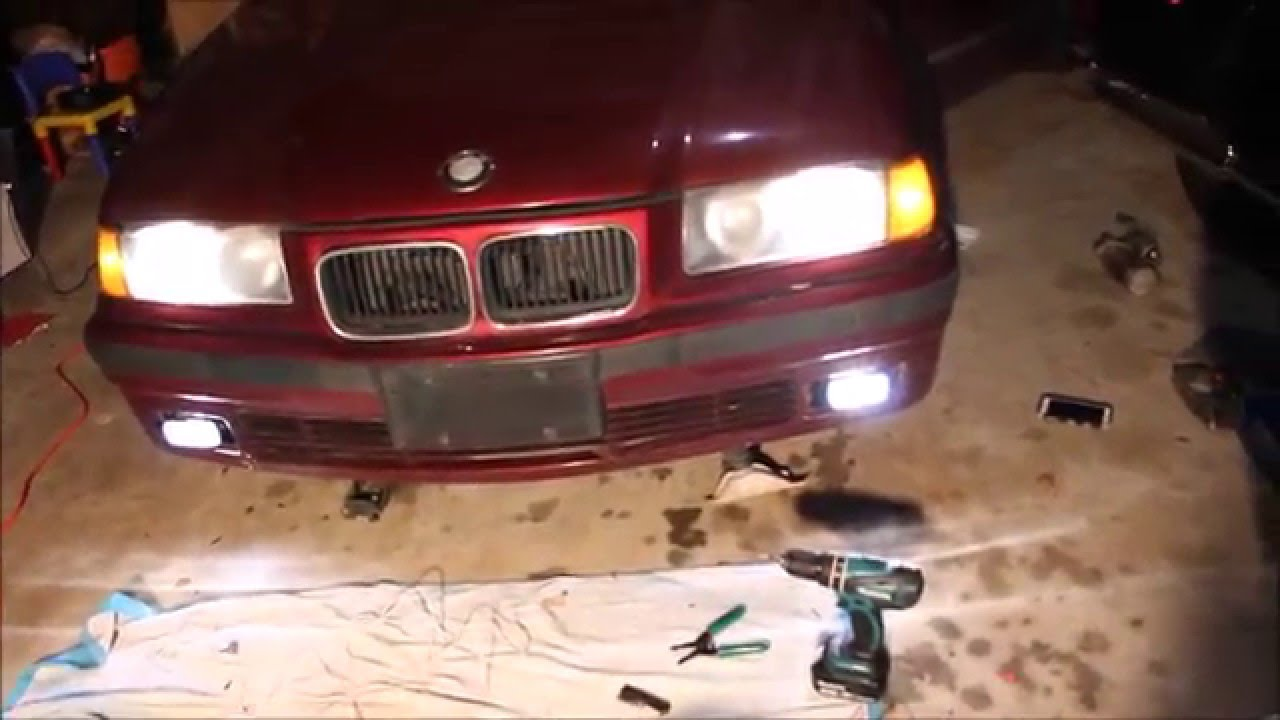 maxresdefault installing fog lights on the e36 bmw youtube  at aneh.co