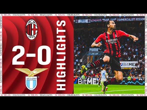 Leão & Ibrahimović goal | AC Milan 2-0 Lazio | Highlights Serie A 2021/22