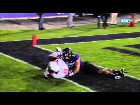 JORDAN WILLIAMS WR #8 Sr  Ball State  vs Northwestern