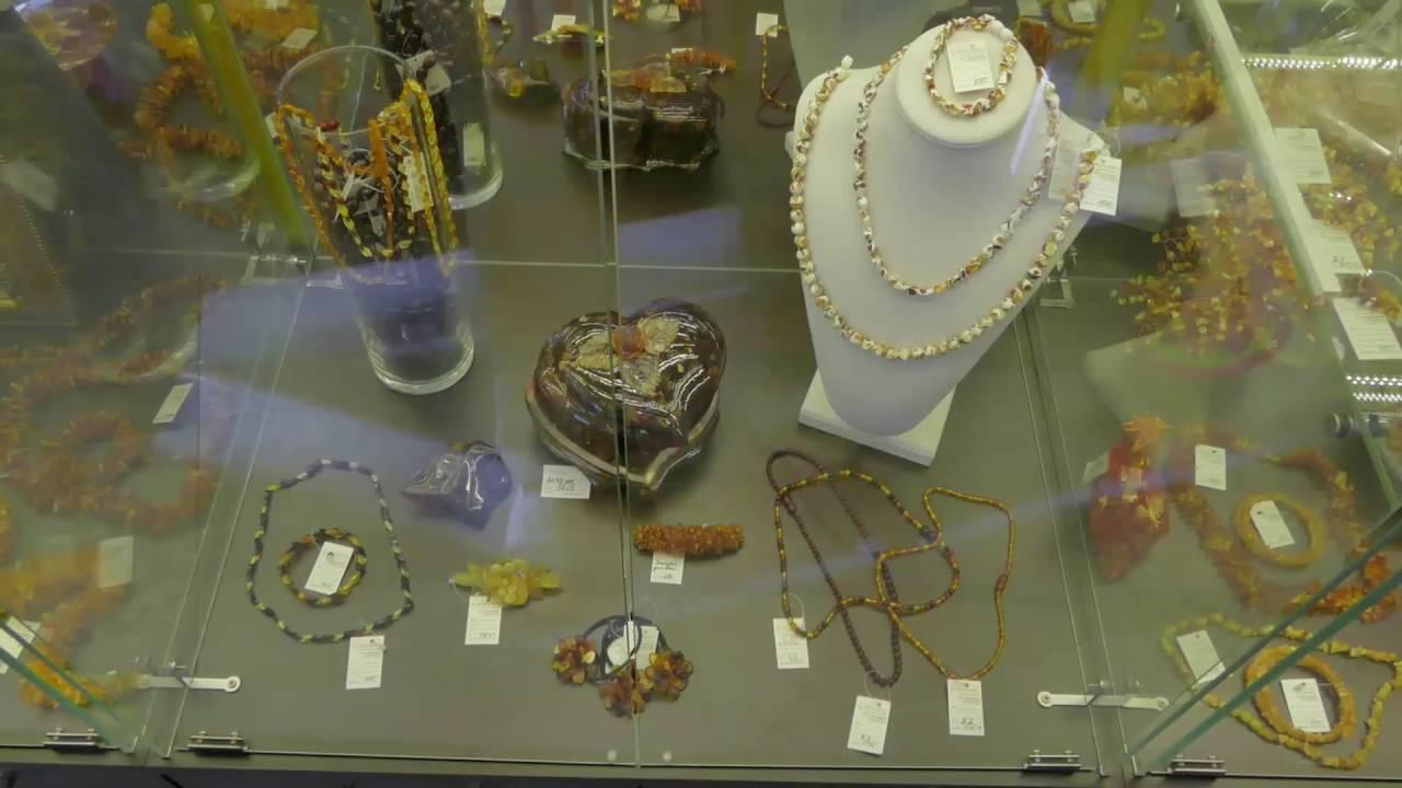 браслеты из янтаря в Калининграде. Амберштайн - YouTube