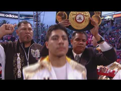Jessie Vargas Reacts to Fight with Manny Pacquiao