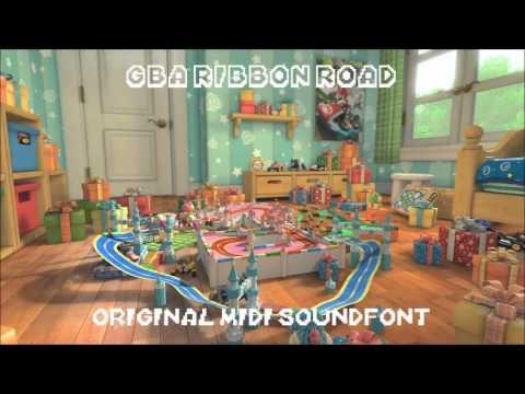 Mario Kart 8 - GBA Ribbon Road MIDI