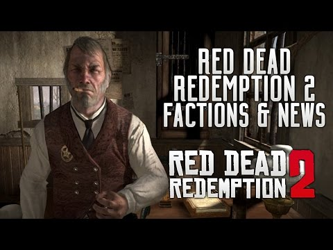 Red Dead Redemption 2 - Factions & Story Roles! Latest News, Native Americans, FBI, ARMY & More RDR2