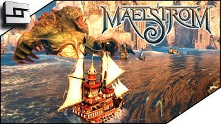 Maelstrom Gameplay - Ship to Ship PVP Action!