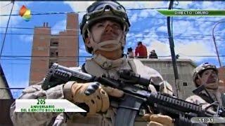 Parada Militar Aniversario 205 del Ejército de Bolivia en Oruro