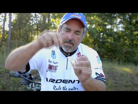 Tying A Palomar Knot With Crankbaits