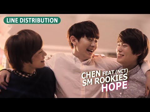 Chen (EXO) feat SM Rookies (NCT) - Hope (Line Distribution) Kpop Cover Project #2