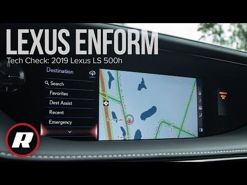 Tech Check: 2019 Lexus LS 500h's Enform Infotainment Is Smarter, But Still Frustrating.