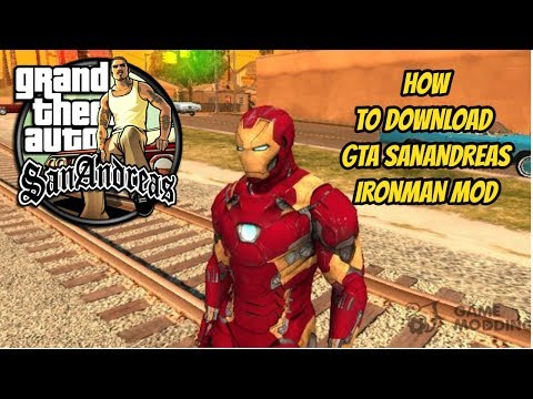 How to Download and install GTA Sanandreas Iron man mod In