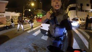 Así para la Policía a las Motos en Brasil #1 2018
