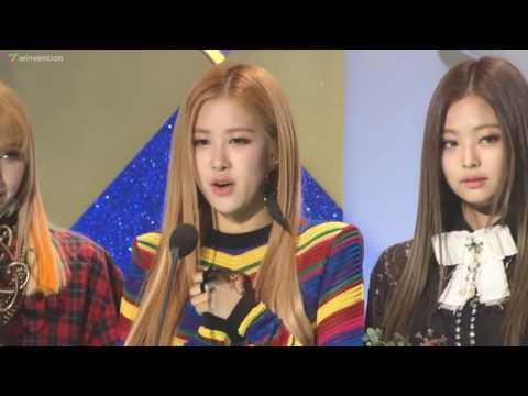 [ENG SUB] BLACKPINK (블랙핑크) Won 'Best New Artist' @26th Seoul Music Awards
