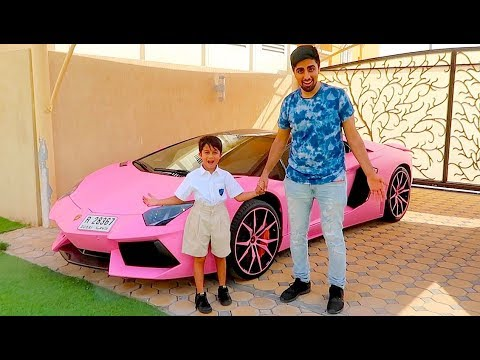 Thumbnail: FIRST DAY OF SCHOOL IN A LAMBORGHINI !!!