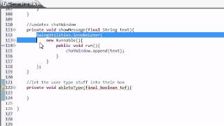 Intermediate Java Tutorial - 47 - Giving the User Permission to Type