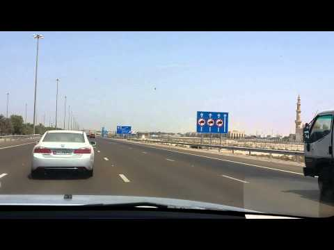 Drive to Adnoc Shahama  (Abu Dhabi Dubai Highway)
