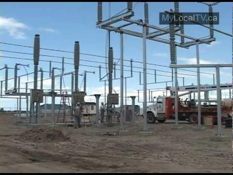 New Chaplin Wind Power Project