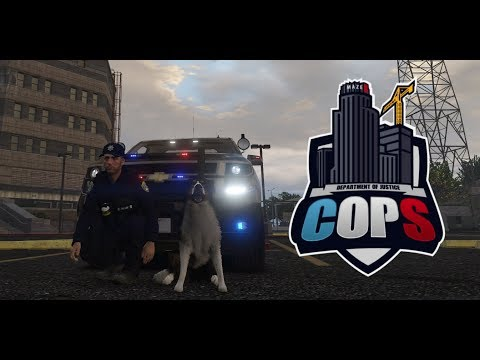 GTA 5 Roleplay - DOJ #26 - K9 TAKEDOWN!