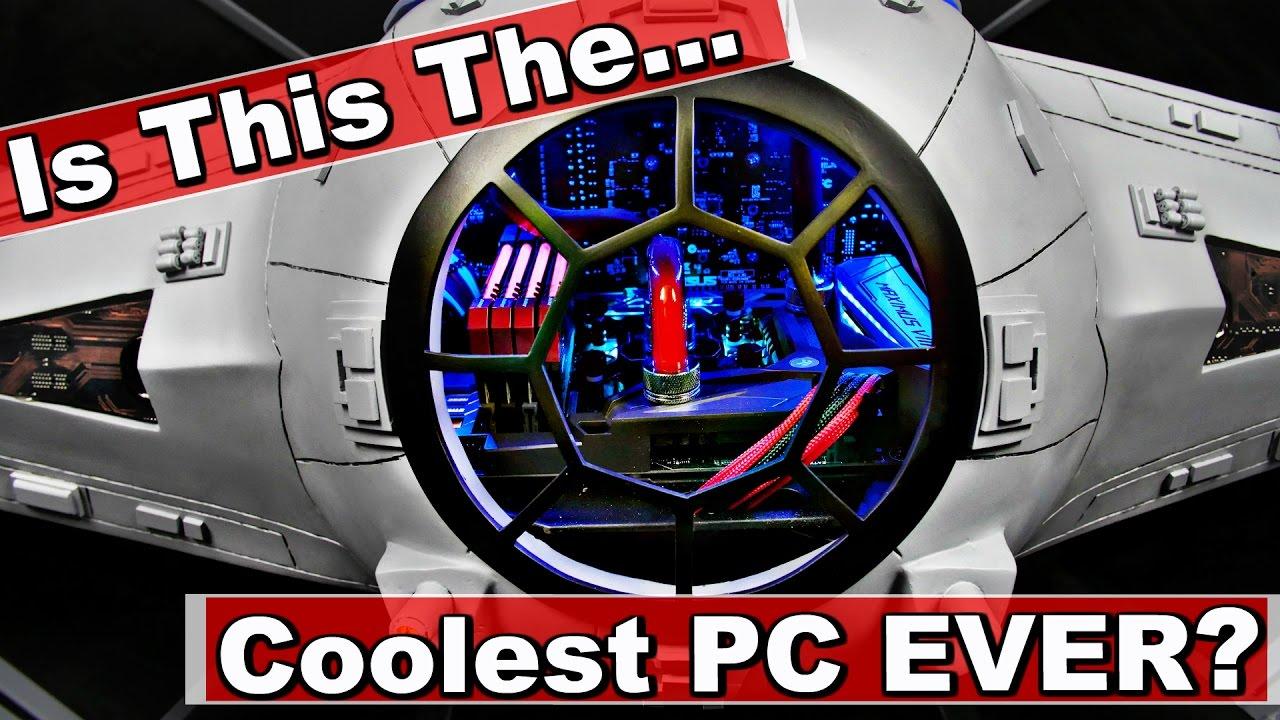 The Ultimate Diy Custom Star Wars Pc Case Build Full