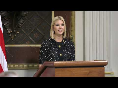 Ivanka Trump and Secretary Pompeo Launch Interagency Task Force  to Combat Human Trafficking