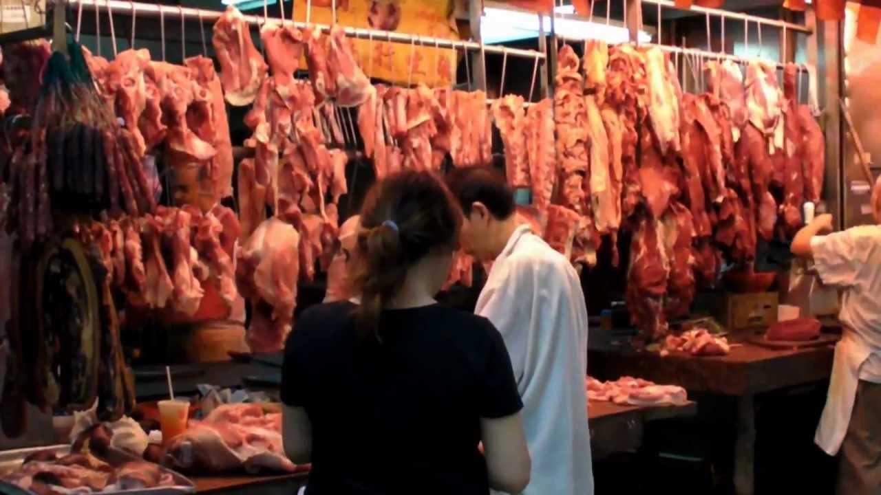 Hong Kong Causeway Bay The Meat Market Street Food