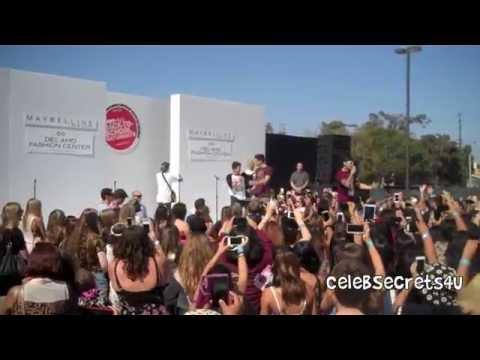 "The Janoskians - ""Real Girls Eat Cake"" - Teen Vogue Fashion Show 8/8/14"