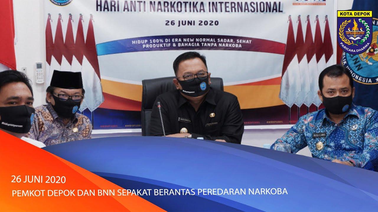 Pemkot Depok dan BNN Sepakat Berantas Peredaran Narkoba