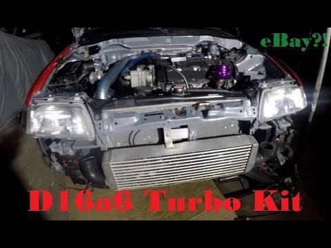 CRX turbo kit mock up   PT1