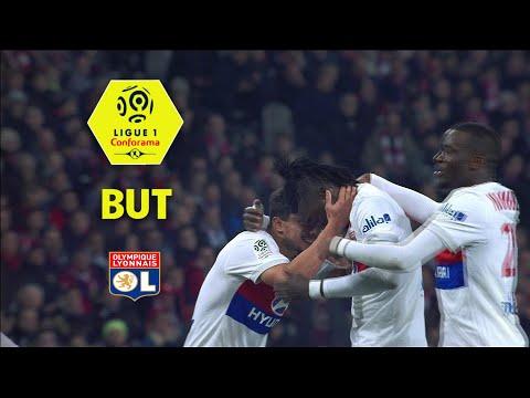 But Bertrand TRAORE (44') / LOSC - Olympique Lyonnais (2-2)  / 2017-18