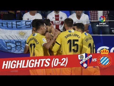 Resumen de SD Huesca vs RCD Espanyol (0-2)
