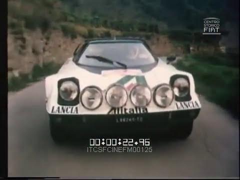 La lunga corsa (FIAT 124 Abarth / Lancia Stratos HF) \ 1976 \ ita