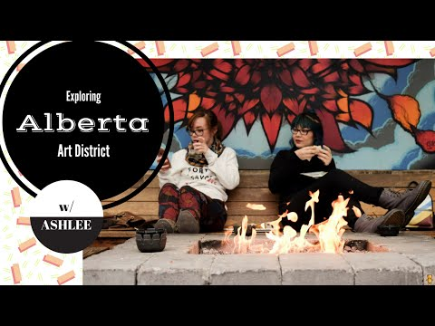 Collette Explores Portland: Alberta Arts District with Ashlee