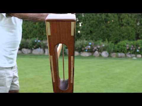 Croquet - Various Croquet Shots Using The