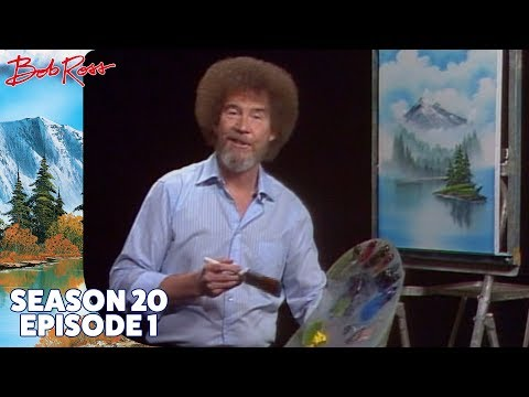 Bob Ross - Mystic Mountain (Season 20 Episode 1)