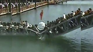 Decenas de personas caen al agua tras derrumbarse el puente por el que caminaban - Exclusivo Online thumbnail