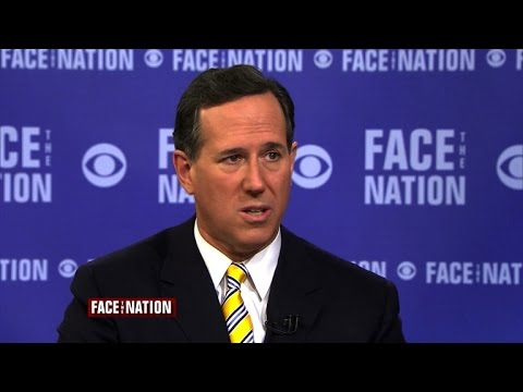Rick Santorum weighs in on 2016