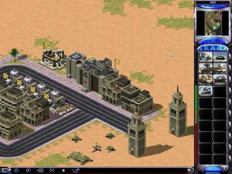 C&C Red Alert 2 Megapack Challenge 1v7 - Arab Attack - British - Random