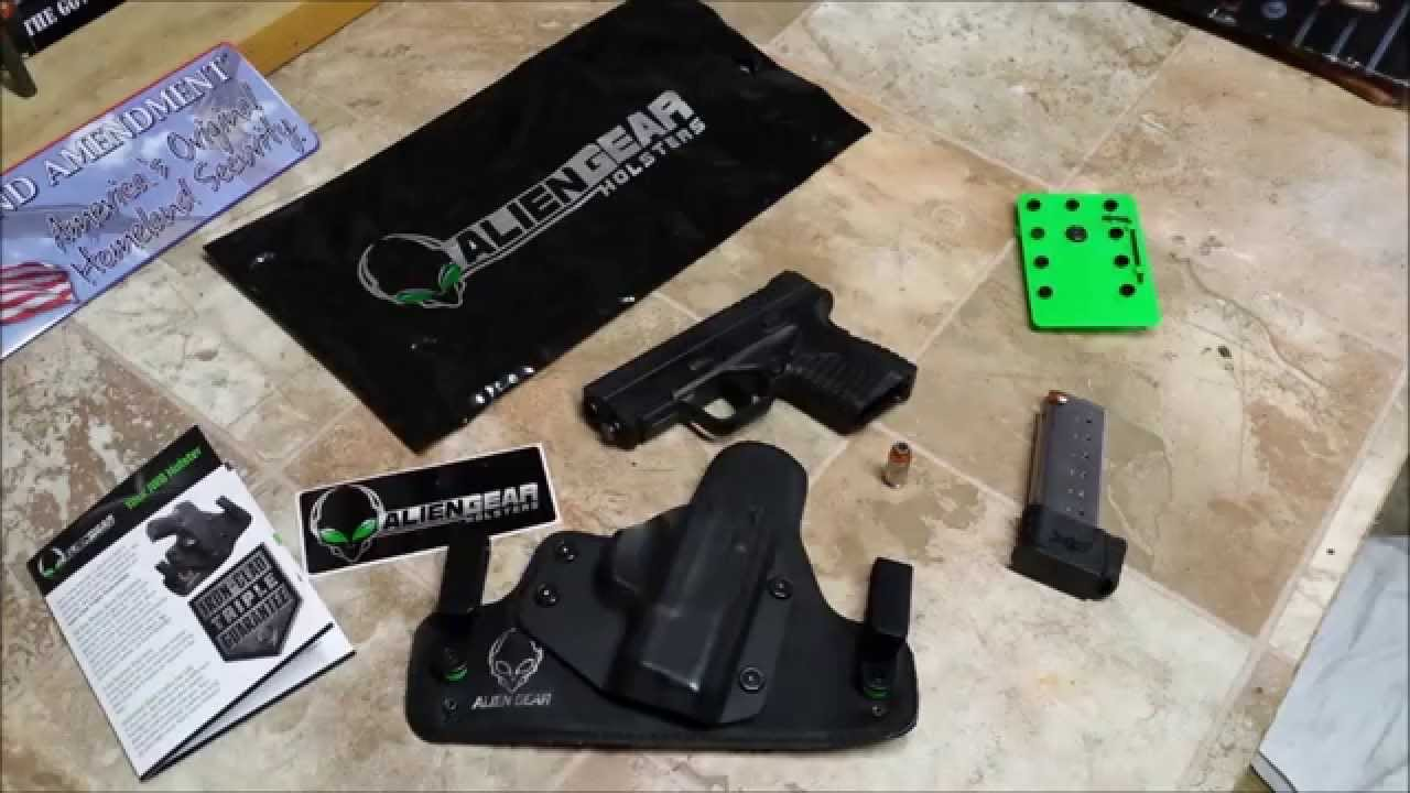 Top Four Choices the Springfield XD-S Holster [Guide + Top Pick]