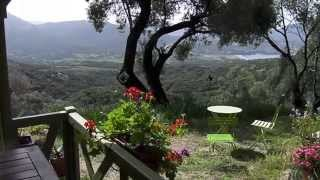 Vue du chalet de A SPADDA à Olmeto Corse du Sud