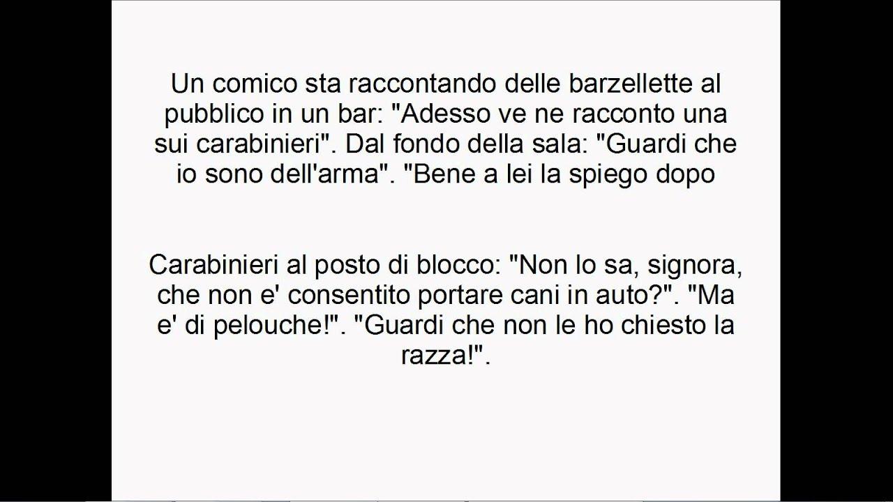 Preferenza barzellette carabinieri divertenti - YouTube DI89