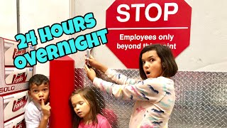 24 Hours OVERNIGHT in Costco!