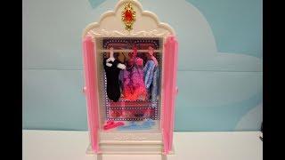 Вешалка в гардероб для Барби как сделать вешалку своими руками платья для кукол