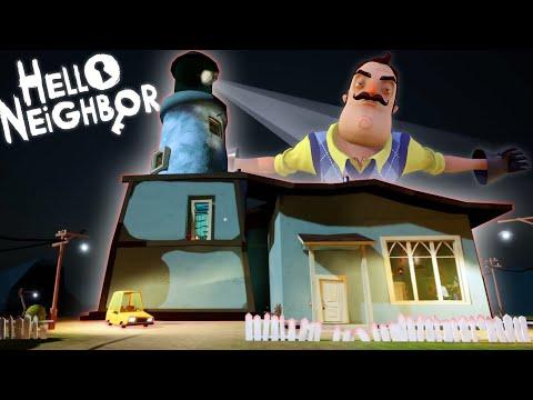 hello-neighbor-mod-|-the-lighthouse-gameplay