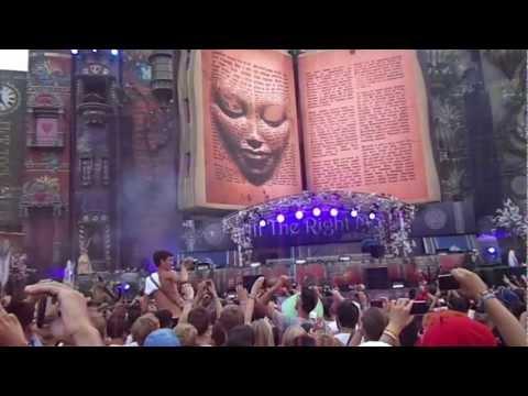 Tomorrowland 2012: Opening The Book Of Wisdom + Intro Hardwell